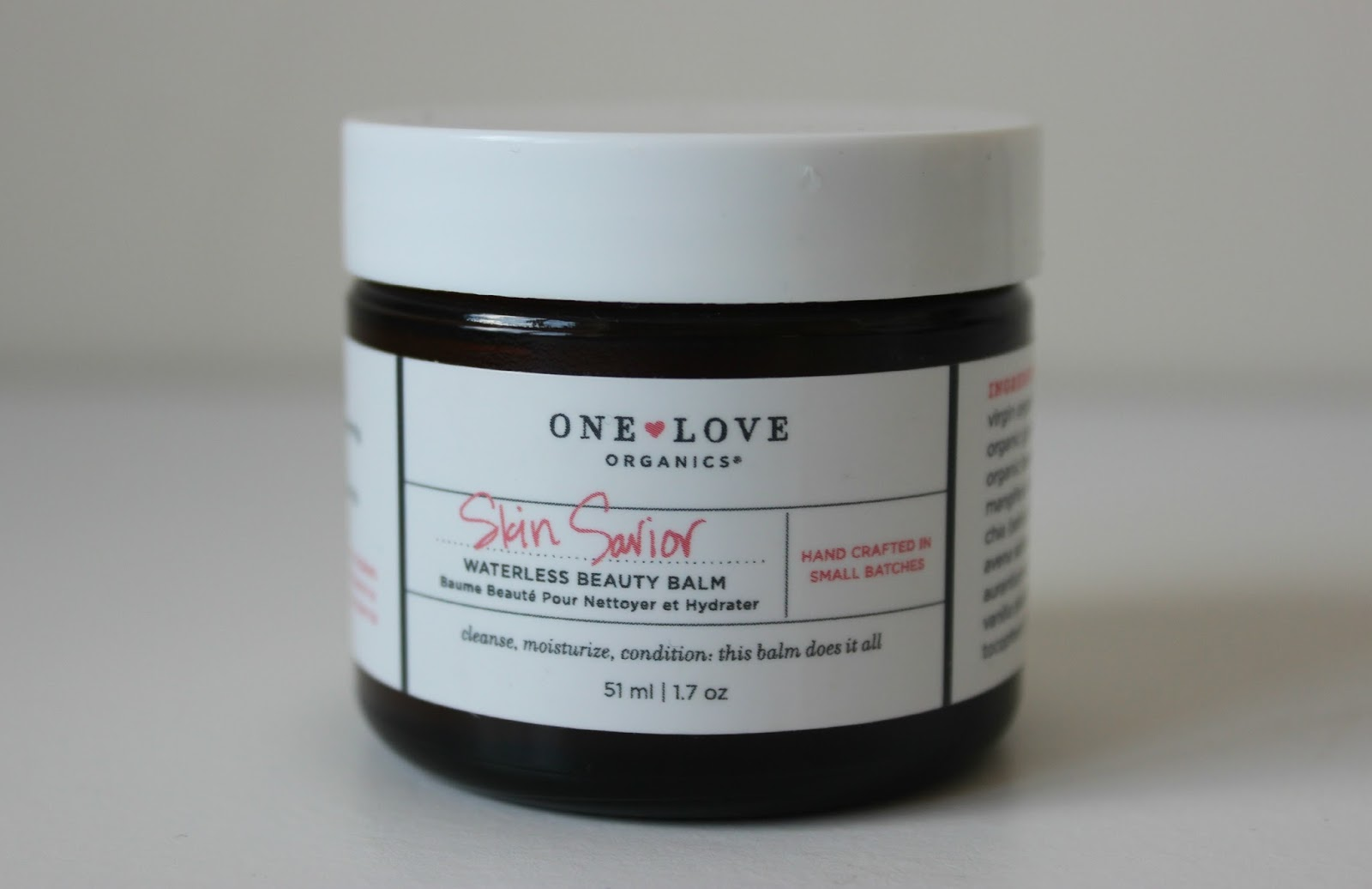 A picture of the One Love Organics Skin Saviour Waterless Beauty Balm