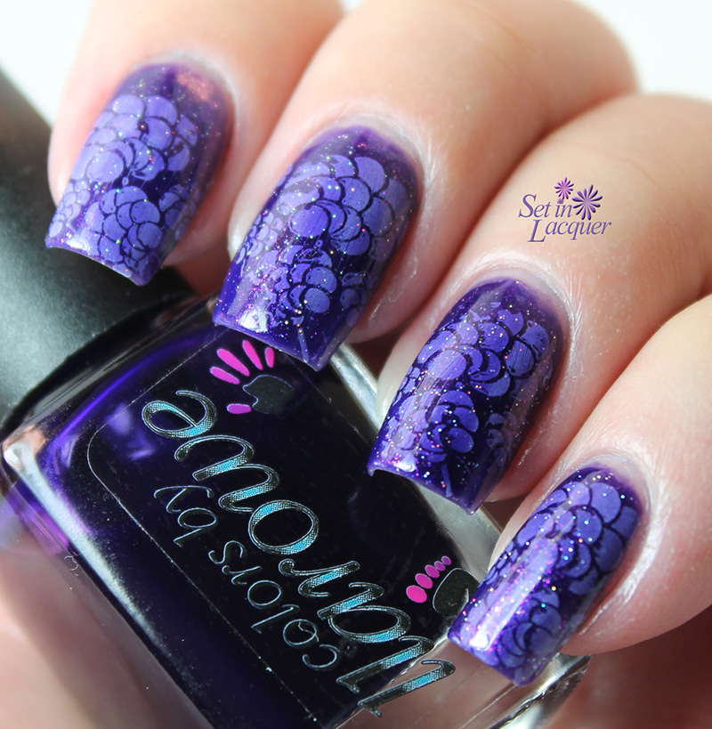 Jelly stampwich nail art