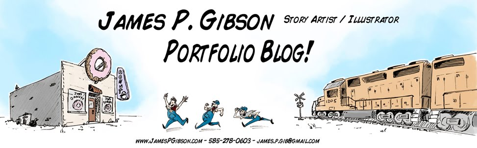 James P. Gibson Portfolio Blog