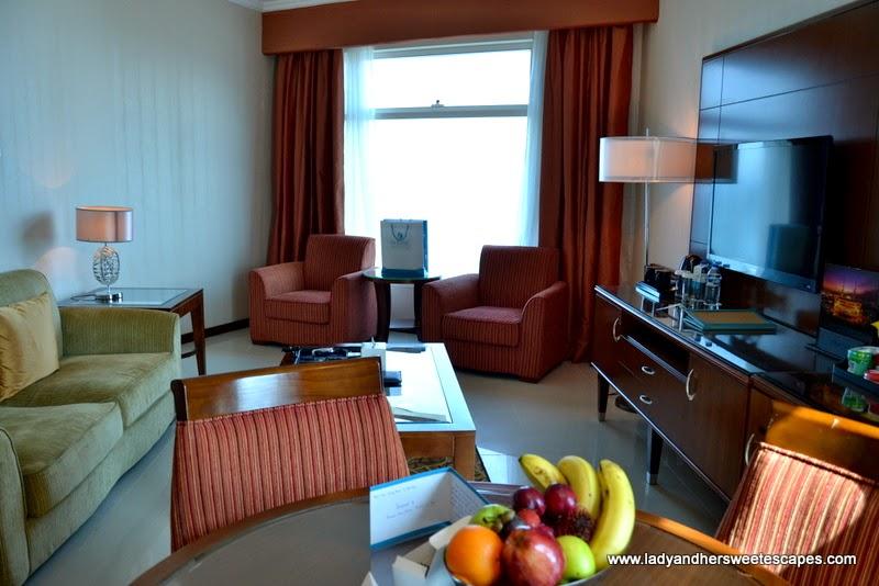 Panoramic Suite at Oceanic Khorfakkan Resort and Spa