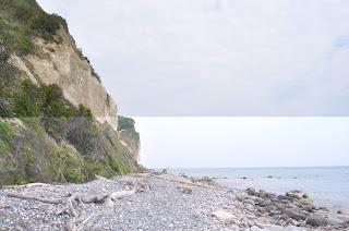 Stranden nedenfor Møns Klint