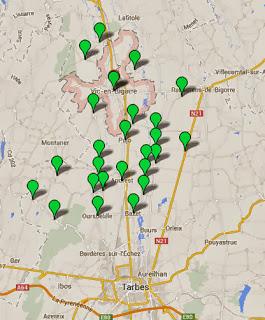 pollution eau nitrates en Hautes-Pyrénées