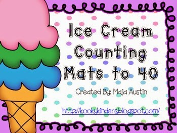 http://www.teacherspayteachers.com/Product/Ice-Cream-Counting-Mats-1208679