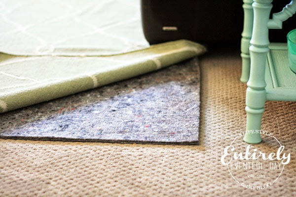 Great info! I didn't know about all the different types of rug pads and what they are good for. MUST PIN!