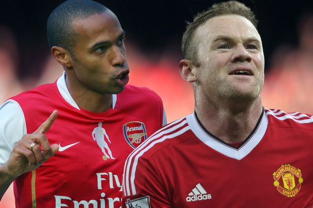 The best Arsenal and Man United strikers of the Premier League era