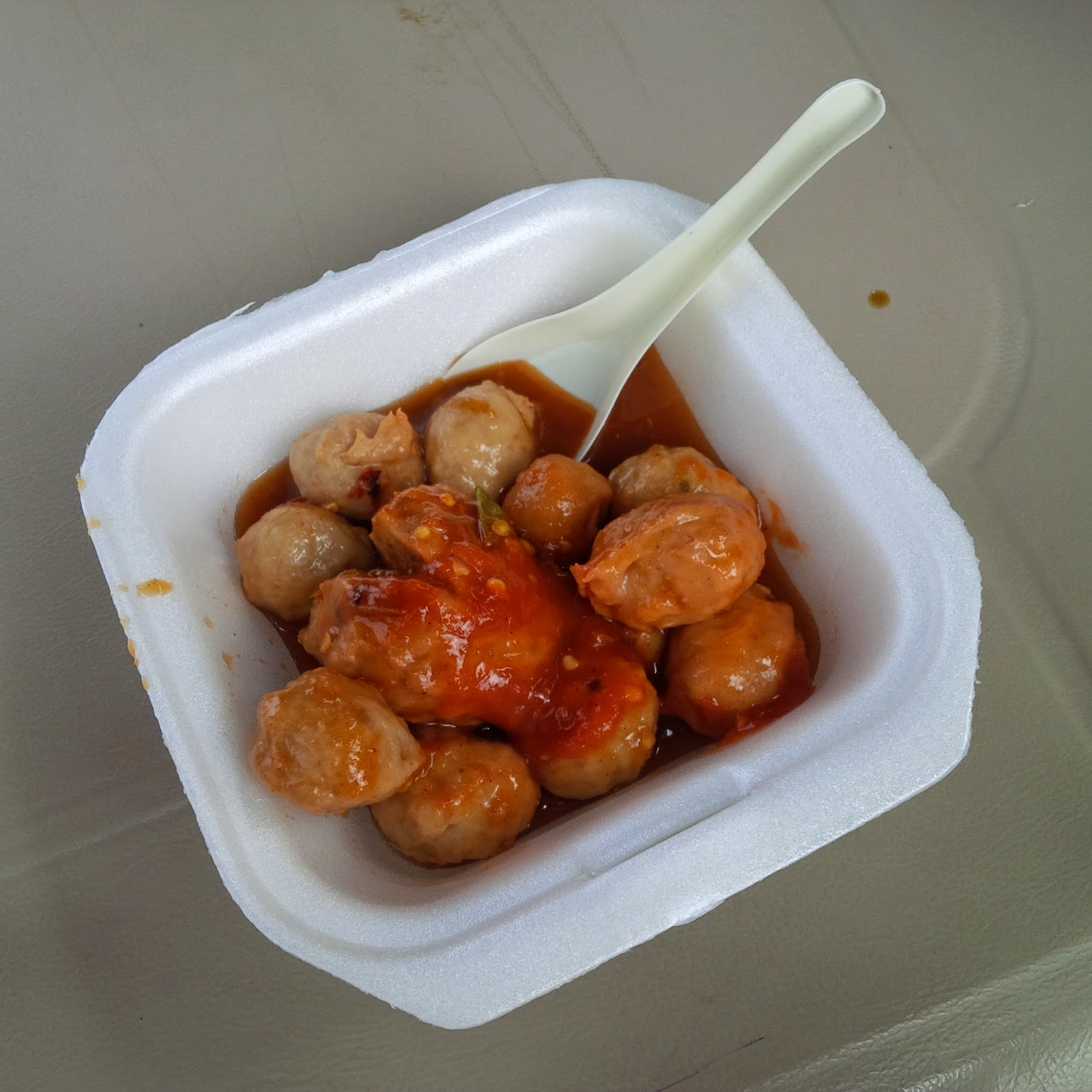 Delicious But Spicy Beef Balls