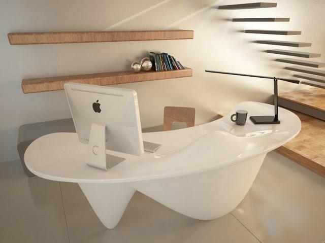 Hometrotter home style blog casa arredamento design for Arredare ufficio in casa