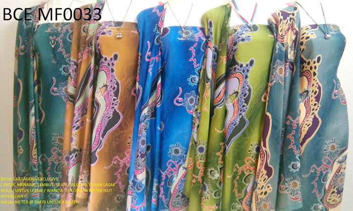 BCE MF0033: BATIK CARTEGENA EXCLUSIVE