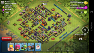 Simulasi Serangan Clash Of Clans
