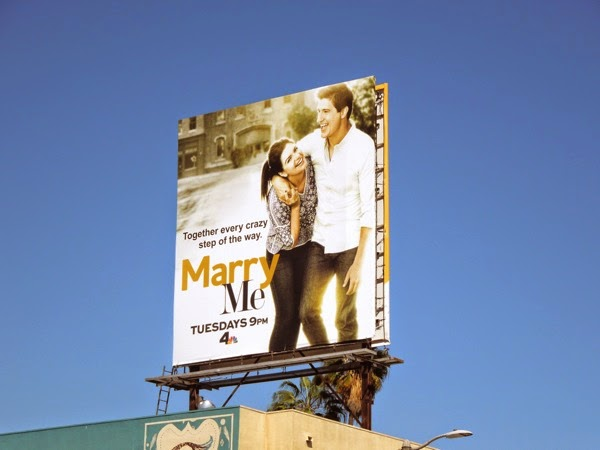 Marry Me TV series billboard