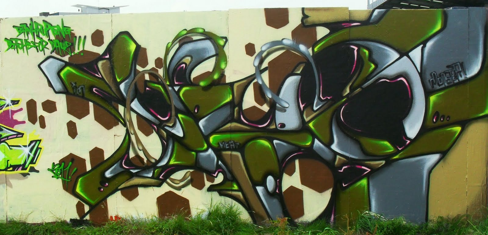 Monster Colors Graffiti Blog Spray Paint Cans Street Art Tags Taggging Pen Graff Blog Gesa