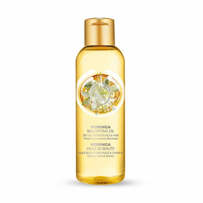 The Body Shop Moringa Beautifying Oil review