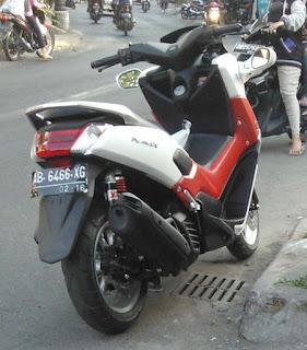 Aksesoris Terbaru Spion Bodi Yamaha N-Max