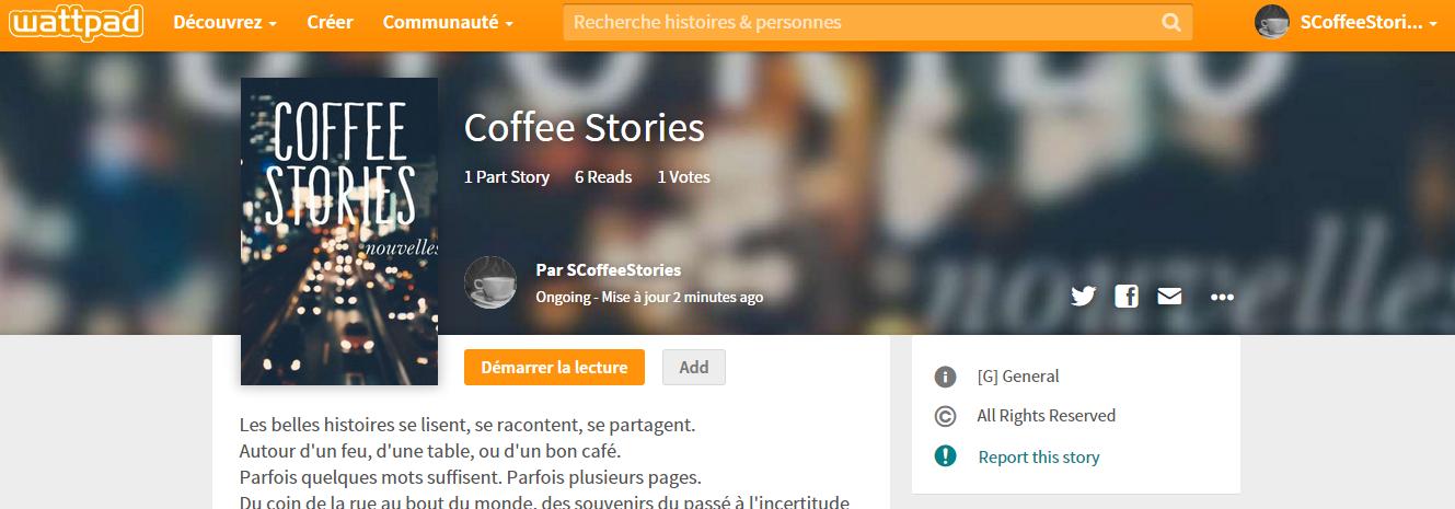 http://www.wattpad.com/story/29917148-coffee-stories