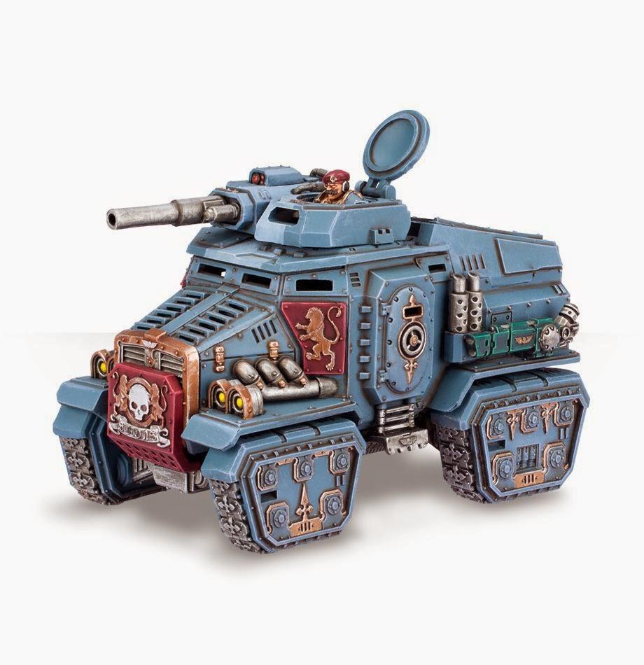 Warhammer 40k Taurox