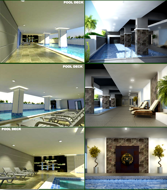 Swimming Pool of Camella Condo Homes Taft beside La Salle