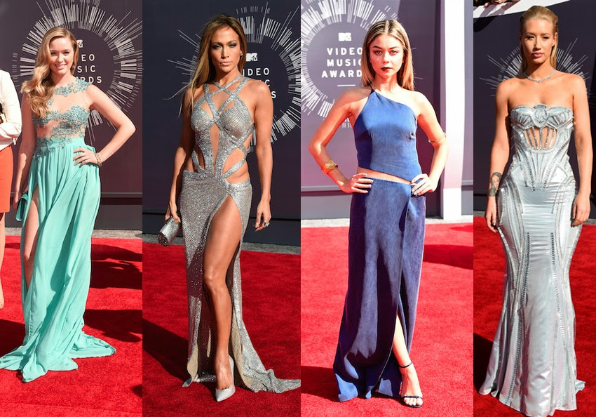 vmas, red carpet,  red carpet fashion, mtv, mtv vmas, best dressed, vmas red carpet photos, video music awards, fashion, fashion blog, womens fashion, greer grammer, jlo, jennifer lopez, sarah hyland, iggy azalea, awkward, modern family, fancy, ariana grande, versace