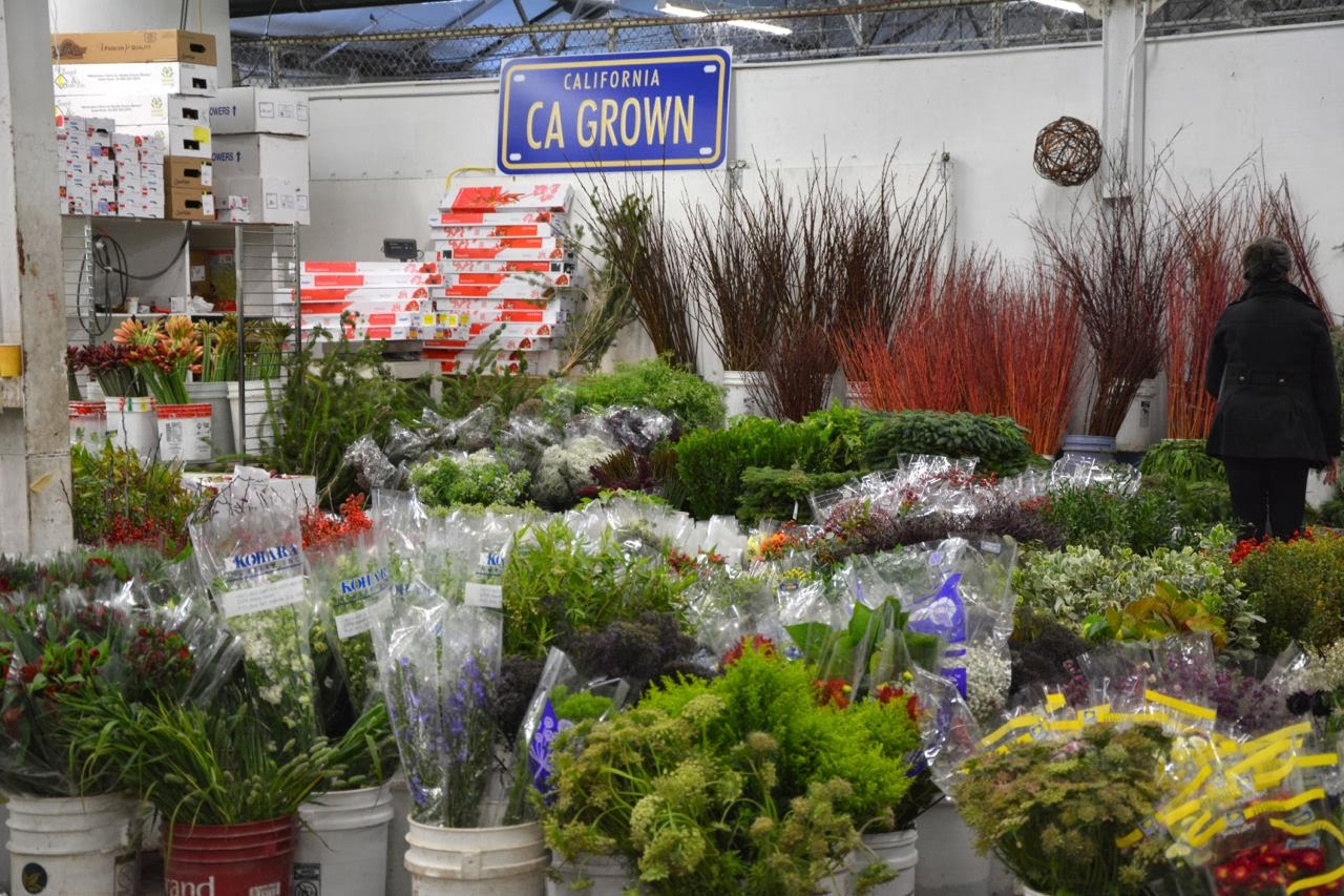 Foragefor news San Francisco Wholesale Flower Market Wreaths & Other