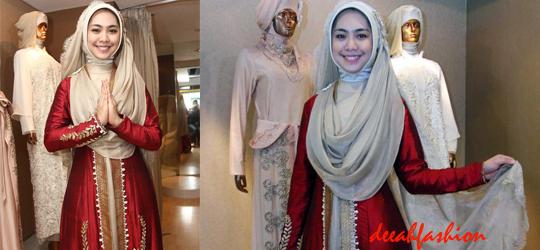 Baju Pesta ala Oki Setiana Dewi Syar'i Chic