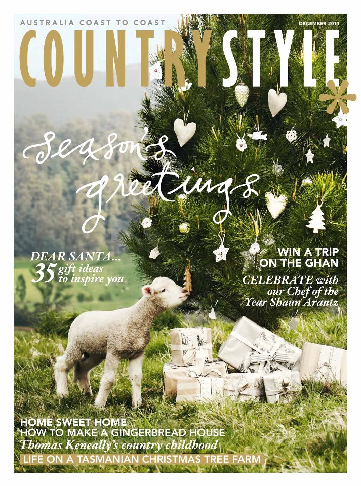 front cover of australian country style magazine