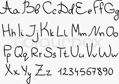 Handwriting Abc