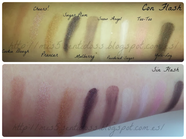 Too Faced Joy To The Girls Swatches