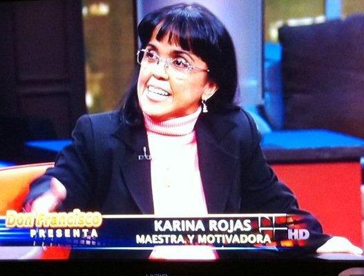 Llámame por mi nombre:  Kary Rojas