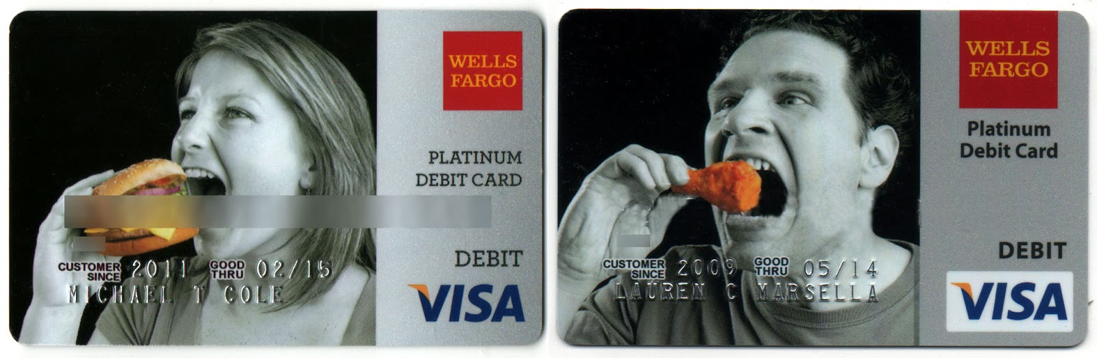 Serious Business: My Debit Card Creations