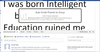 auto invite friends in facebook groups