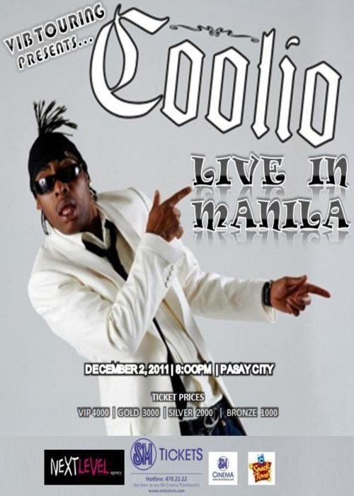 Coolio LIVE in Manila 2011