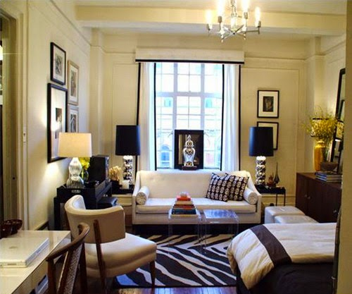 Best ways to make stylish and elegant small space living - How to decorate a small living room space ...