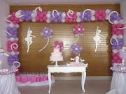 Decoração com balão. Decore, Pinte Eternize sua Festa.