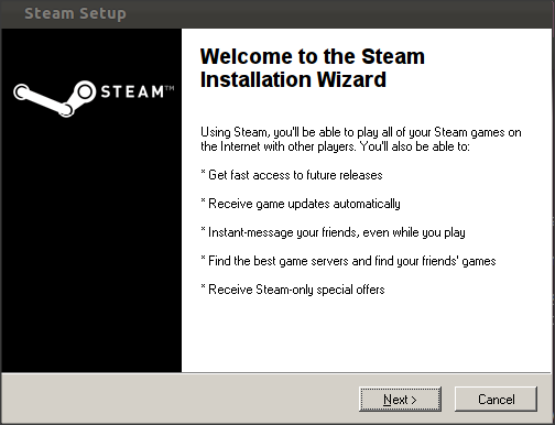 How To Install And Run Steam Under Ubuntu 11.10/11.04