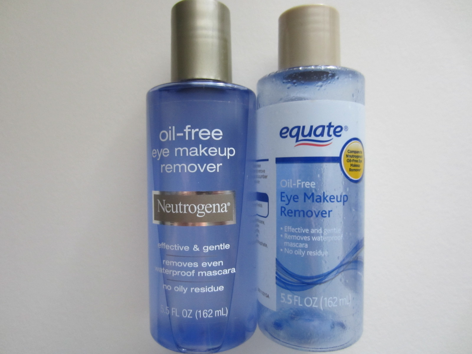 Fashion Makeup And More Whos Better Equate Vs Neutrogena Oil