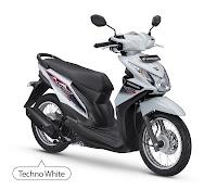 Honda BeAT FI SW Putih