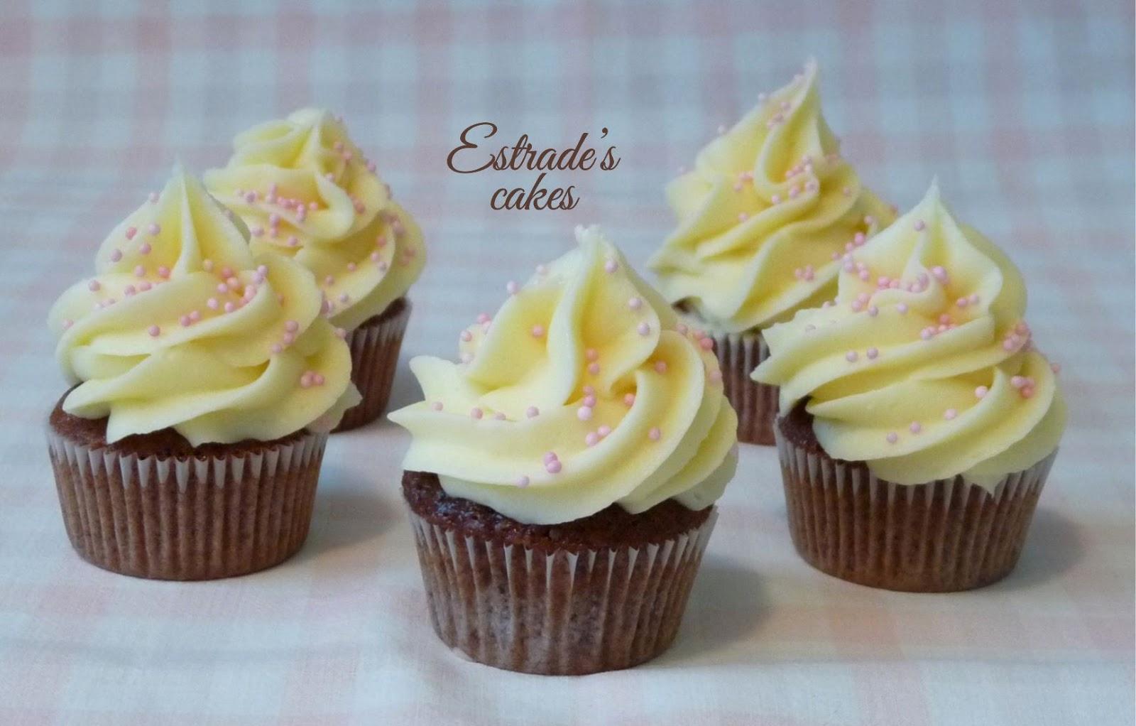 receta de cupcakes chocolate + chocolate blanco - 1