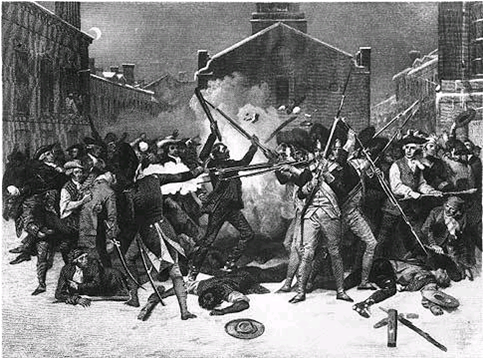 a history of the boston massacre History of the boston massacre, march 5, 1770 consisting of the narrative of the town, the trial of the soldiers and a historical introduction, containing unpublished documents of john adams, and explanatory notes (1870) this book, history of the boston massacre, by frederic kidder, is a .