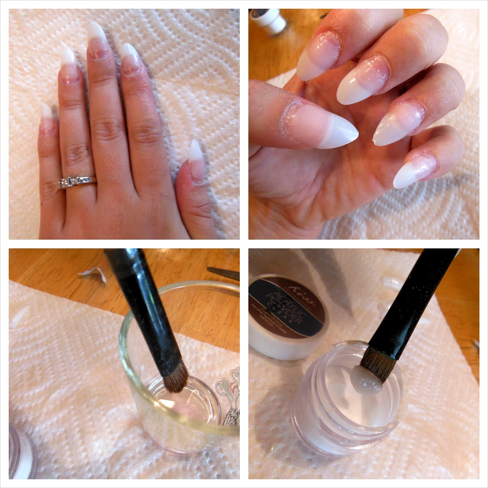 Cosmetic Queen Blog: How to: Acrylic nails at home!