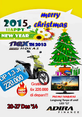 Sepeda Motor Bekas Kredit di Blitar Suzuki Nex Promo Hadiah Langsung TV LED