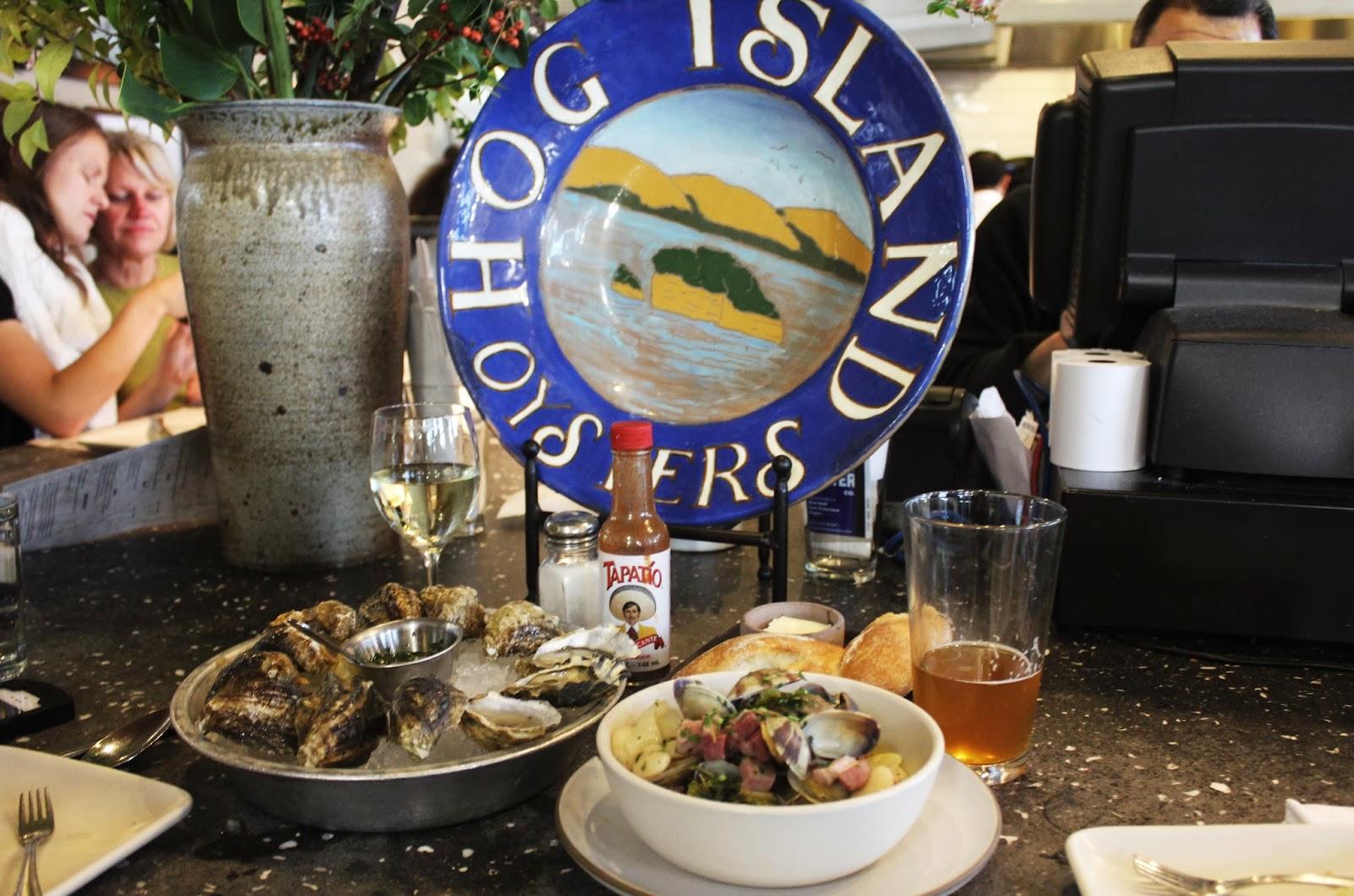 Hog island oyster co san francisco ca hungry hong kong for Fresh fish company happy hour