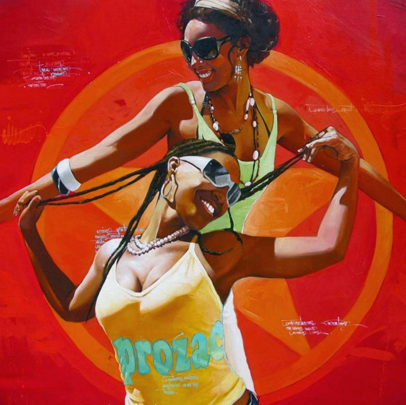 mujeres-africanas-en-pinturas