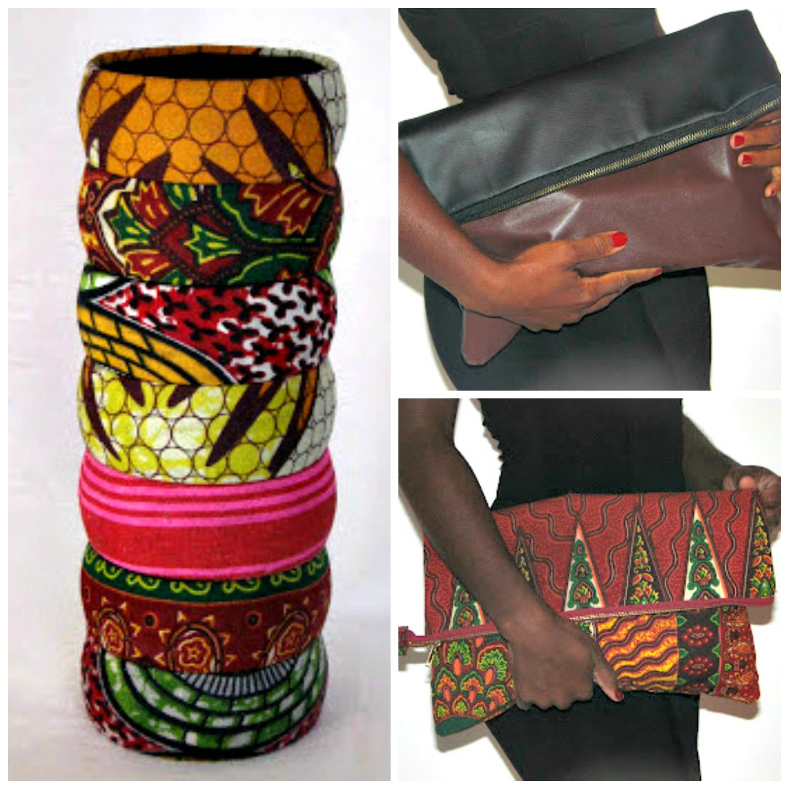 VAKWETU BANGLES AND BAGS!