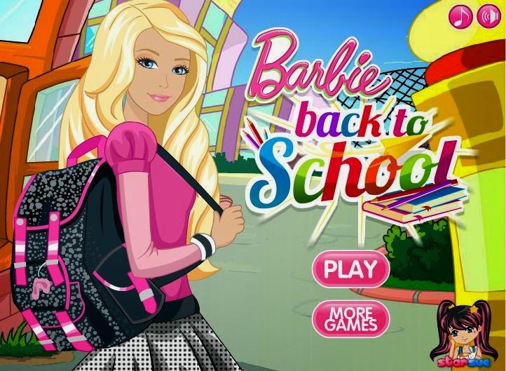 Games Barbie School
