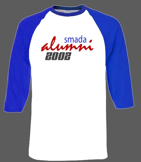 Sablon Baju IKA SMAPAT-SMADA Bantaeng Alumni 2002