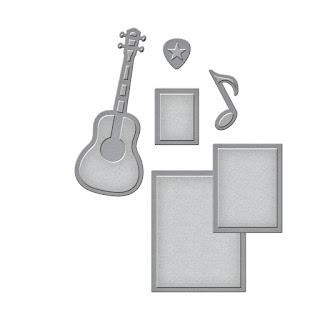 SBS2-210 Spellbinders D-Lites - Sing it Loud 3