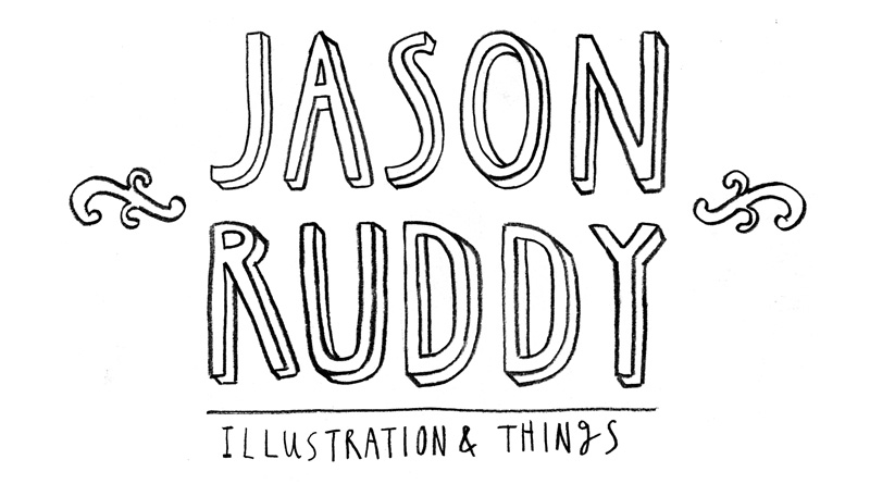 Jason Ruddy's illustration and things