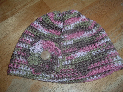 Crochet Hair Walmart : This is my hat. I loved this yarn when I saw it into Walmart. It may ...