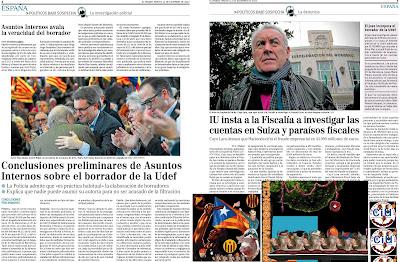Cataluña, el oasis de la corrupción