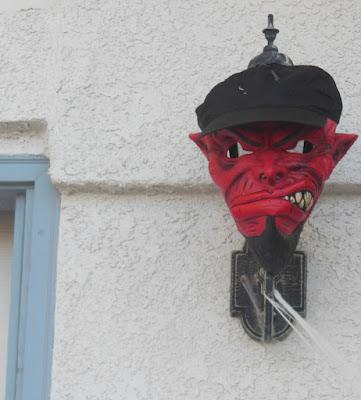 Devilish Mask on Light, ©B. Radisavljevic