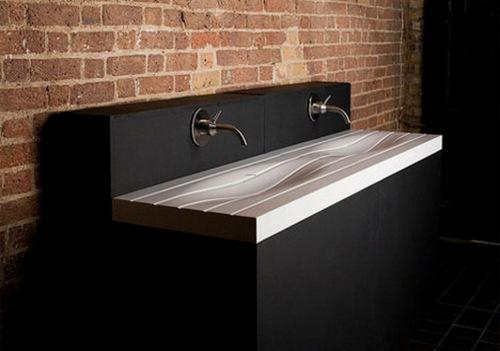 designer sink 14